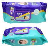 48 Units of Baby Wipes Baby still 120ct - Baby Beauty& Care Items