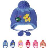 72 Units of ASSORTED KIDS WINTER HAT WITH DEER - Junior / Kids Winter Hats