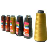 96 Units of Thread 1000 M. 6asst Dark Colors - Sewing Thread