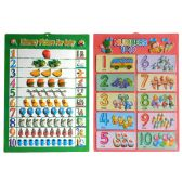 "144 Units of Poster Numbers 16.15x22.45"" - School Supply Kits"