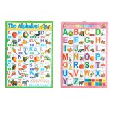 "144 Units of Poster Alphabet 16.15x22.45"" - School Supply Kits"