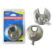 24 Units of Padlock Disk 70mm Packing - Padlocks and Combination Locks