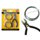 96 Units of Wire Cutting Set 3pc (2x7m) - Wires