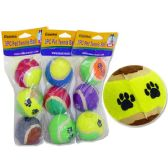 72 Units of 3pc Tennis Balls For Pets
