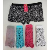 120 Units of Ladies Panties-Zebra Prints - Womens Panties & Underwear