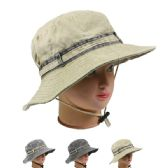 24 Units of MENS SUMMER HAT ASSORTED COLOR - Sun Hats