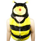 12 Units of ANIMAL HAT AB 310 ( KIDS JACKET ) BUMBLE BEE - Kids Vest