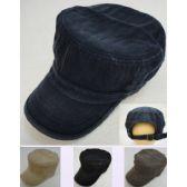 12 Units of Cadet Hat [Denim] - Military Caps