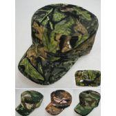 12 Units of Cadet Hat [Assorted Camo] - Military Caps