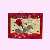 "96 Units of GIFT BAG 14.5"" X 19.5"" X 6"" - Valentines"