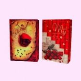 "12 Units of GIFT BAG 14.5"" X 9.8"" X 3.5"" - Valentines"