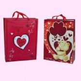 "96 Units of VALENTINES GIFT BAG 17"" X 12.5"" X 4.7 - Valentines"