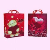 "120 Units of VALENTINES GIFT BAG 12.6"" X 10.2"" X 3.9"" - Valentines"