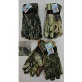 12 Units of Men's Hardwood Camo Gloves