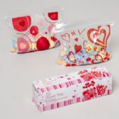 96 Units of Sandwich Bag Valentine Print