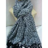 36 Units of Winter Fashion Pashminas Leopard Style - Winter Pashminas and Ponchos