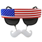 72 Units of American Novelty Party Sunglasses - Novelty & Party Sunglasses