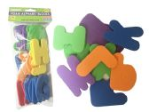 96 Units of 26 Piece Craft Foam Alphabet - Foam & Felt