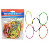 144 Units of 100 Grams Assorted Rubber Bands - Rubber Bands