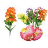 144 Units of 7 Head Flower Bouquet - Artificial Flowers