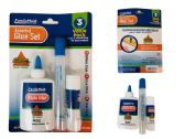 48 Units of 3 Piece School Glue Set - Glue Office and School