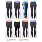 72 Units of Lady's Sport Pants heather color - Womens Active Wear