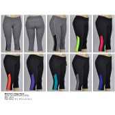 72 Units of Womens Yoga Capri - Womens Active Wear