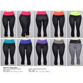 72 Units of Womens Sport capri - Womens Active Wear