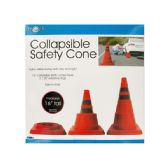 6 Units of Collapsible Traffic Safety Cone with Reflective Rings - Auto Accessories