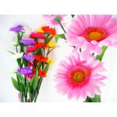 144 Units of 4 Head Daisies Flower Bouquet
