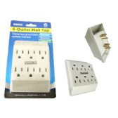 96 Units of ETL UL Std. Outlet Adapter 6 Plugs - ELECTRICAL