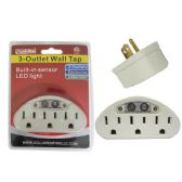 96 Units of ETL UL Standard. Adapter 1 To 3 White W/Light - ELECTRICAL