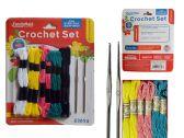 96 Units of 12pc Crochet Set - SEWING KITS/NOTIONS