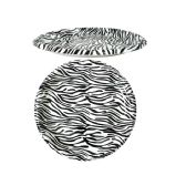 96 Units of Zebra Design Round Tray