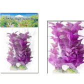 144 Units of 2 Piece Assorted Fish tank decoration