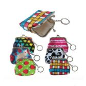72 Units of SNAP ON COIN PURSE W/ KEYCHAIN - Coin Holders/Banks/Counter