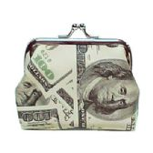 72 Units of MONEY PRINT COIN PURSE - Coin Holders/Banks/Counter