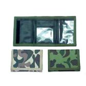 72 Units of CAMOUFLAGE WALLET - PURSES/WALLETS