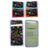 72 Units of PEACE SIGN PRINT WALLET - PURSES/WALLETS