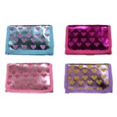 72 Units of GLITTER HEART WALLET - PURSES/WALLETS