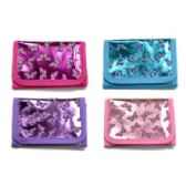 72 Units of GLITTER BUTTERFLY WALLET - PURSES/WALLETS