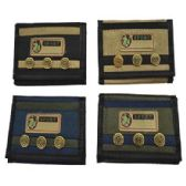 72 Units of WALLET WITH BUTTONS - PURSES/WALLETS