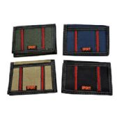 72 Units of ASSORTED COLOR SPORT WALLET - PURSES/WALLETS