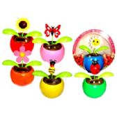 48 Units of SOLAR POWER DANCING FLOWER WITH BUGS - Solar Merchandise