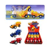 "48 Units of 5"" FRICTION ROTATING RACING CAR"