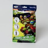 72 Units of Take N Play Teenage Ninja Turtles Coloring Boards,markers,stickers And Fun Pad