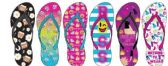 72 Units of Ladies Expression Printed Flip Flop - Women's Flip Flops