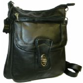 24 Units of Lambskin Anti-theft Leather Side Bag - Leather Purse/Handbags