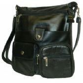 24 Units of Lambskin Anti-theft Leather Side Bag