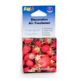 240 Units of Decorative Air Freshener - Fresh Strawberries - Auto Cleaning Supplies